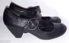 chaussures à talons TAMARIS cuir noir taille 41 UK 7.5 US 9