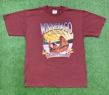 Winnebago Scout Reservation Native American T-shirt. Size Large.