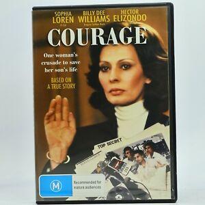 Courage Sophia Loren DVD Classic Movie Good Condition Free Tracked Post