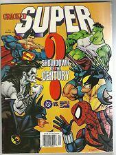 DC vs. MARVEL spoof - CRACKED Magazine #11 (summer 1996) BS vs. MARBLE Comics.
