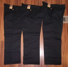 Official TESLA Motors Shop RED KAP Black Work Pants Size W 32 x L 32 NWOT