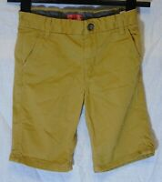 Boys Next Tan Brown Chino Denim Adjustable Waist Board Shorts Age 7 Years