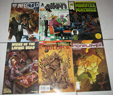 6 x US Comics Night of the living dead Infected Garth Ennis Monster Matinee