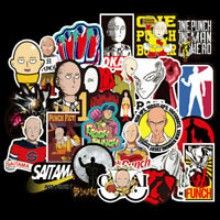 One Punch Man(70x) Animation Skateboard Stickers Bomb Laptop Luggage Decals