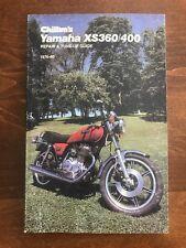 Yamaha XS360 XS400 Vintage Chilton's Service Shop Repair Manual 1976-1980 NICE!