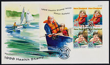 New Zealand B160a on FDC - Children, Water Safety, Boat