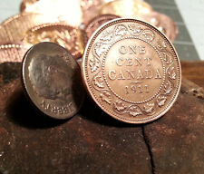 Golf Ball Marker Cnadian 1911 One Cent Piece Large Penny Ball Marker
