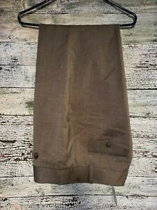 Ann Taylor signature straight through hip and thigh trousers lined Sz 16 pants