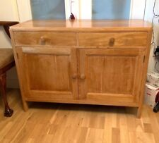 Light Oak Storage Cupboard & Drawers Sideboard Great Size Contemporary Stylish