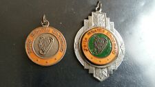 Dublin Enamel Sports medals Feile mbaille Thormaid Ballyfermot