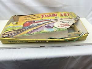 TRAIN Set H O Gauge Battery OPERATED Remote Control Diesel Locomotive Clifford