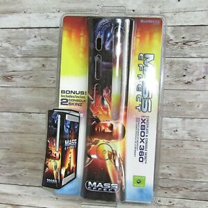 Mass Effect Bioware  XBOX 360 Faceplate and Skinz  Rare Sealed Mad Catz 2007