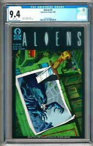 Aliens #2 (1988) CGC 9.4  White Pages  Mark Verheiden - Mark A. Nelson
