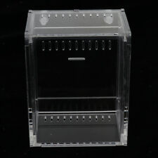 Acrylic Clear Reptile Terrarium Container for Lizard Turtle Spider Snake