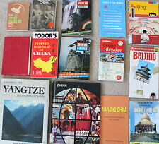 lot 14 travel tour books -China Beijing Vietnam Beijing Shanghai Nanjing Yangtze