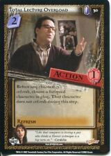 Buffy CCG TCG Angels Curse Unlimited Edition Card #30 Total Lecture Overload