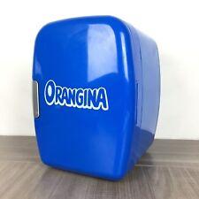 Petit Mini Frigo Orangina Bleu Canette Voiture / Portable Cooler