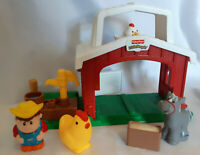Fisher Price Little People Farm Barn with Figures