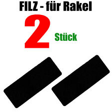 FILZ – Selbstklebend , Optimal für 3M Rakel 2 STÜCK  - Folierung - Carwrapping