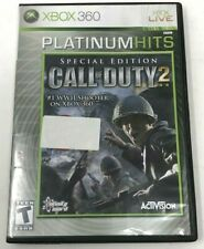 Call of Duty 2 -- Special Edition (Microsoft Xbox 360, 2007) No DVD