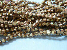 1 Strang Frosted abalorios perlas beads joyas DIY bricolaje Matt Weiss 4mm