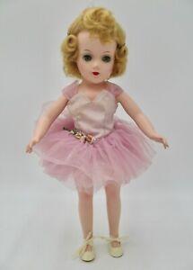Pretty Mary Hoyer Hard Plastic Ballerina Doll
