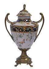 In ottone Ceramica Coperchio Anfora Vaso Stile liberty sontuosa 99937809-dss