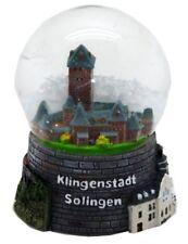 Schneekugel Solingen Klingenstadt Schloss Kunstmuseum,Snowglobe Germany Souvenir