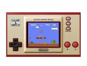 2020 Nintendo Game and Watch Super Mario Bros Authentic
