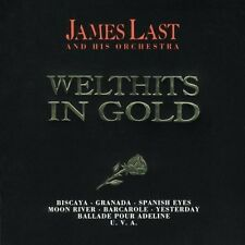 James Last and His Orchestra : Welthits in Gold 2CD POLYDOR