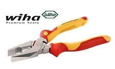 "Wiha Pliers -Trades Insulated 1000V AC Linesman Pliers 9"" (225mm)"