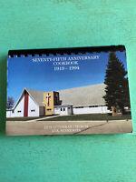 Vintage 1968-1993 Zion Lutheran Church Ada Minnesota Cookbook Recipes Cook Book