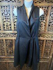 RAW Correctline por G Star Negro Vestido Talla XS RRP £ 130 (B2)