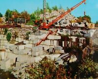 Granite Quarry In The St. Cloud Minnesota Area Chrome Vintage Postcard