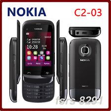 Nokia Series C2-03 - Chrome Black Dual Sim (Unlocked) Cellular Phone