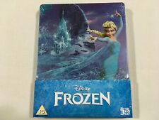 Frozen 3D (2013) - Limited Edition Steelbook Blu-Ray Region Free | Rare | New