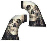 Skull Painting Love Piero Dali Custom Ruger Revolver Grips Vaquero Wrangler