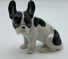 Early Vintage Erphila Germany Boston Terrier Dog Porcelain Figurine