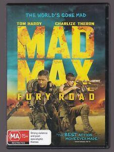 Mad Max Fury Road - DVD, Tom Hardy, Charlize Theron