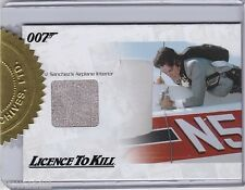 JAMES BOND 50TH ANNIVERSARY 2 JBR28 FRANZ SANCHEZ AIRPLANE INTERIOR RELIC 46/333