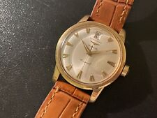 Vintage 1960s Longines Conquest Automatic 18ct Gold Watch