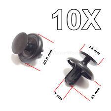 10X Motor unter Abdeckung Push Typ Halteclips für Toyota Lexus Peugeot Citroën