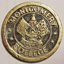 Medal Medaille Montgomery college 1946