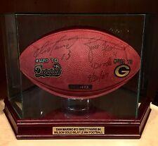 Brett Favre Dan Marino Signed LE Official Wilson NFL Game Football COA Packers