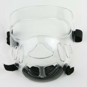 Face Shield for Dipped Foam TKD, Karate, Martial Arts Head Guard