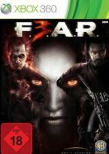 Xbox 360 Fear 3 F.E.A.R. horror Shooter * muy buen estado