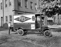 Photograph of Holmes Bakery Delivery Truck  Washington DC Year 1920  8x10
