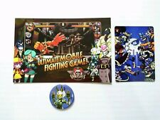 Anime expo AX 2019 exclusive Skullgirls ultimate loot promo pack Pin Art card +