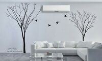 TWO Tree Branchs Removable Wall Art Stickers Mural Vinyl Decal Paper Decor DIY