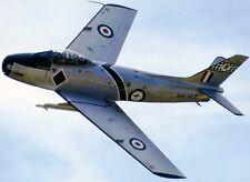 CA-27 Sabre Commonwealth Australia Airplane CA27 Mahogany Kiln Wood Model Large